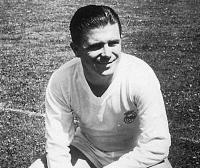 Ferenc Puskas. Photo credit: AS English