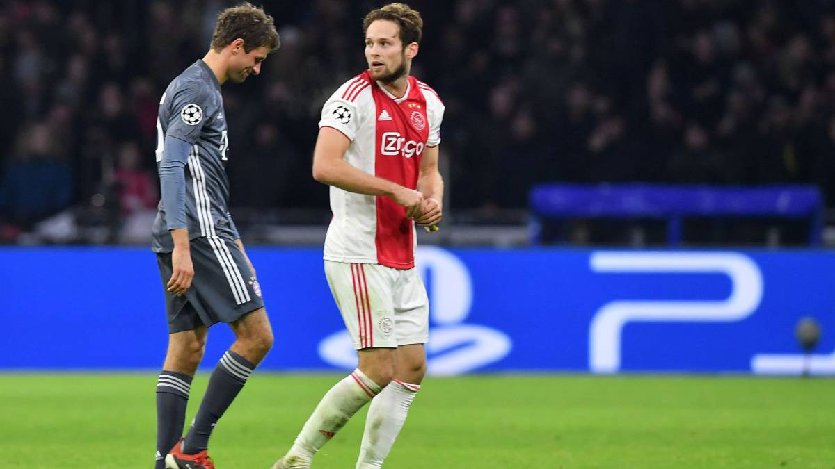 check out 5ad41 458c0 Thomas Müller could miss Champions League last 16 through ...