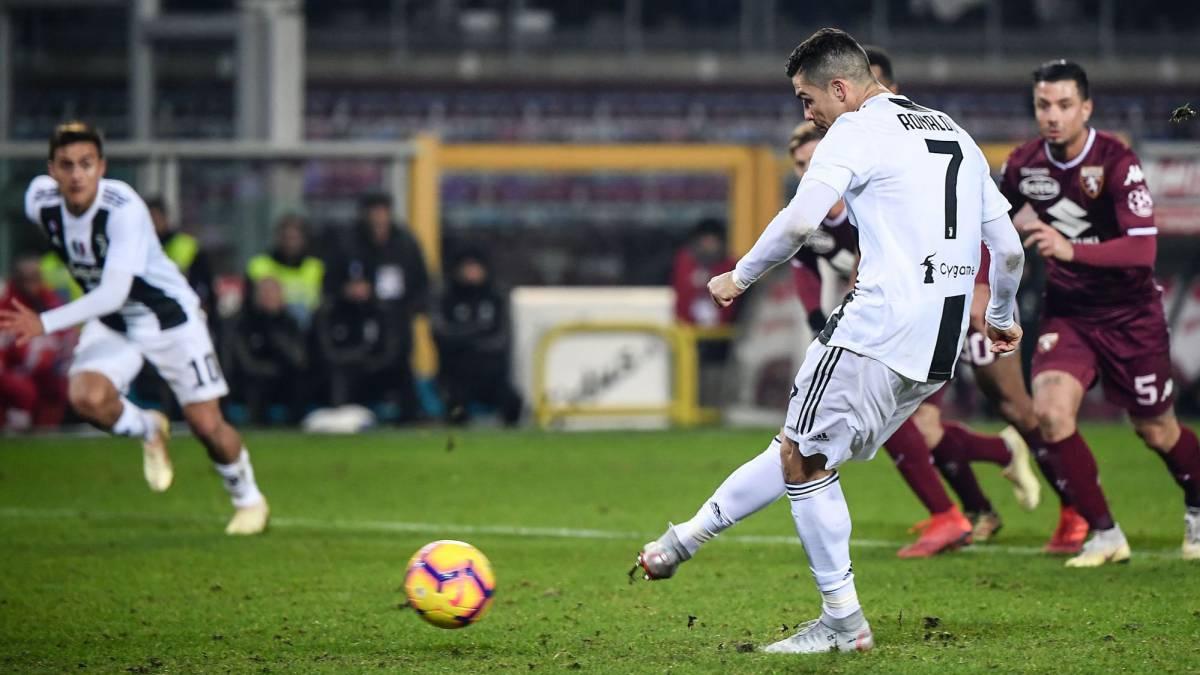 Torino Vs Juventus Cristiano Ronaldo Settles Feisty Turin Derby From The Spot As Com