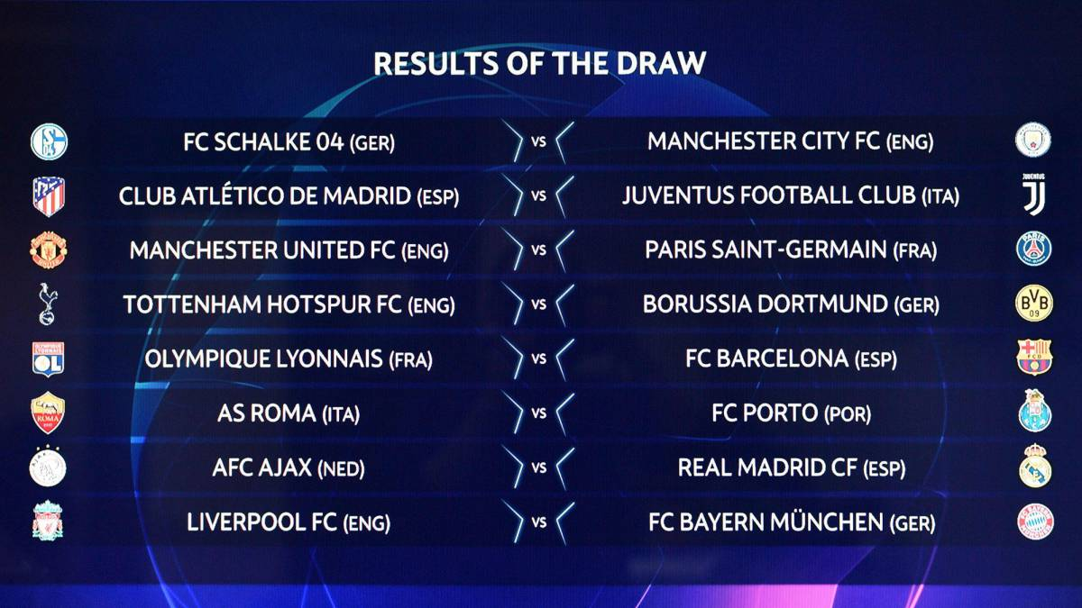 Champions League and Europa League draw live: Round of 16/32