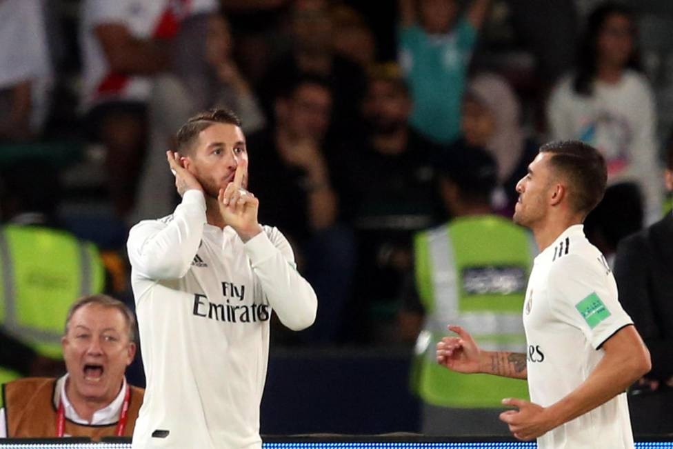 Рамос призвал болельщиков заткнуться, забив гол в ворота Аль-Айна - изображение 1
