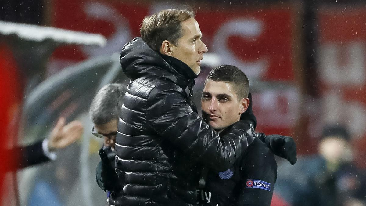 Marco Verratti with a suspected 'serious' injury leaves Tuchel with mixed  emotions - AS.com
