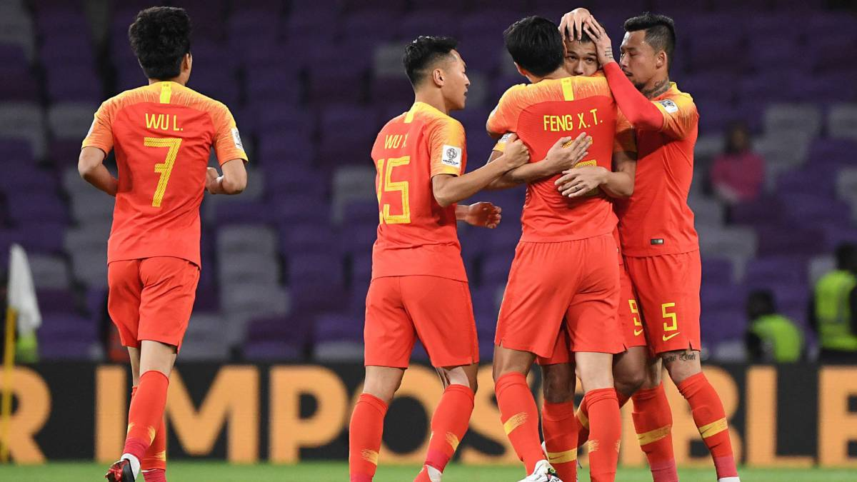 China Come From Behind To See Off