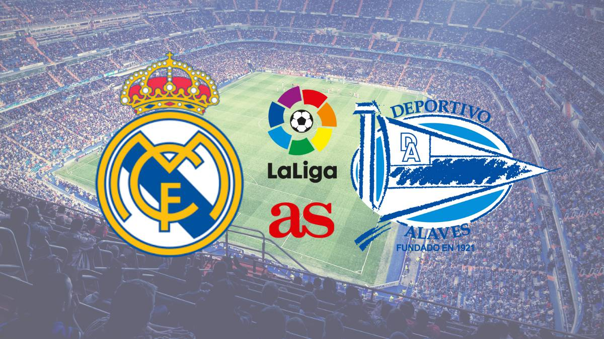 LaLiga | Real Madrid vs Alavés: how and where to watch - times, TV ...