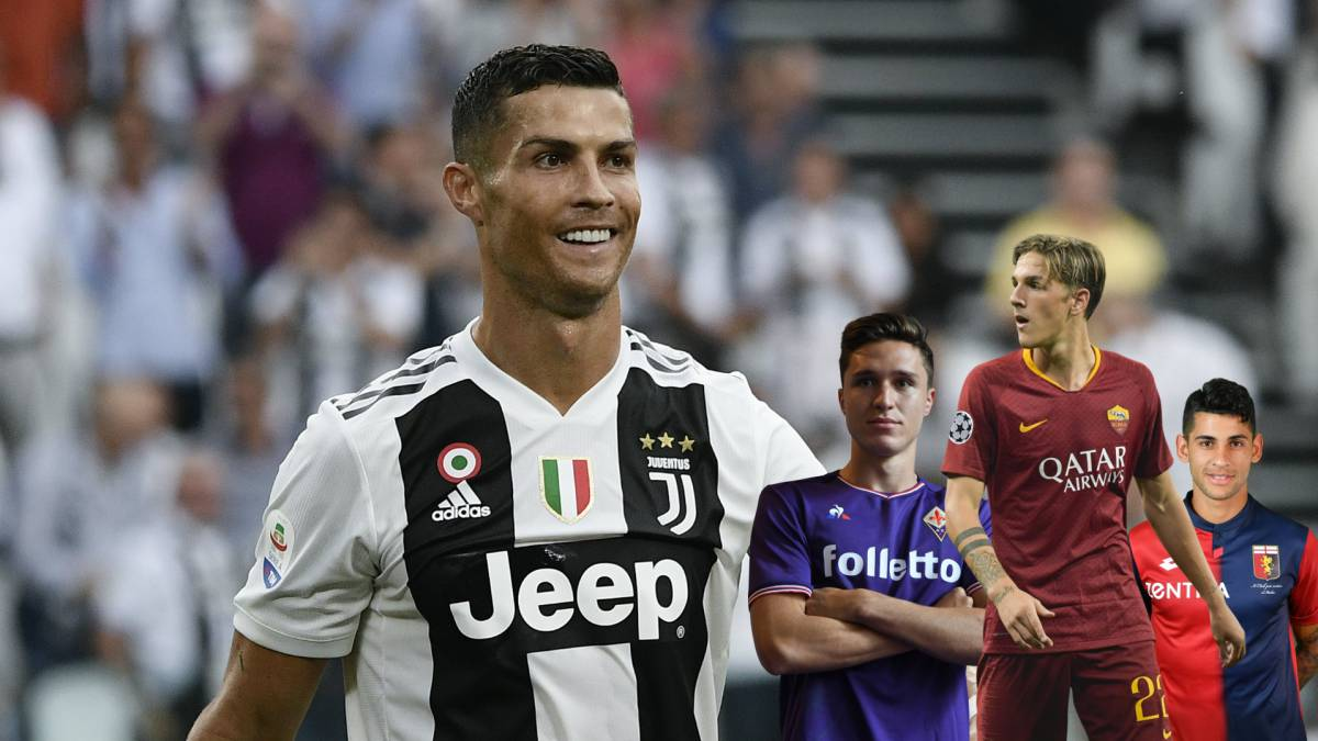 sneakers for cheap 7e0db 0ddee Serie A | Juventus plan team of the future using Cristiano ...