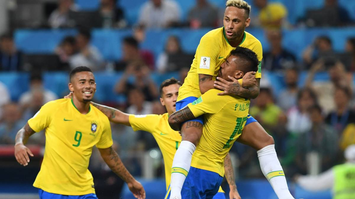Image result for images of brazil football team 2019