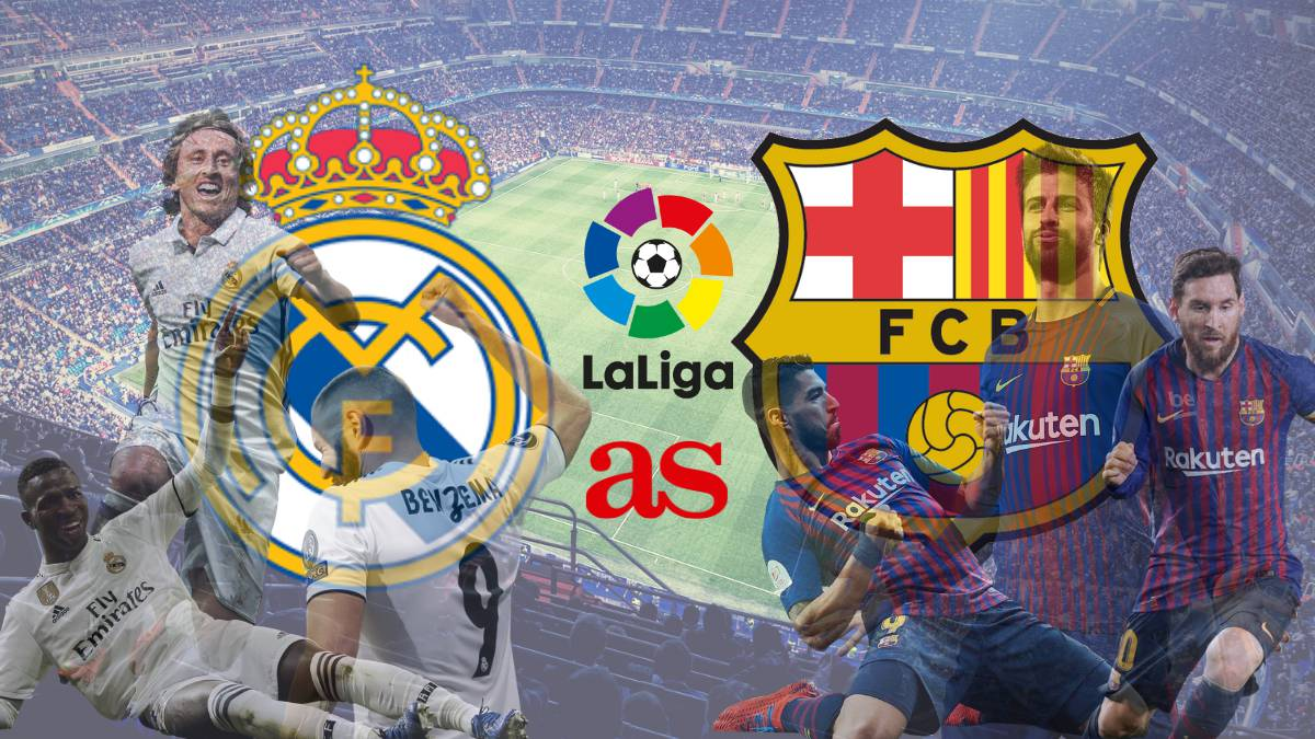 El Clasico Real Madrid Barcelona How And Where To Watch