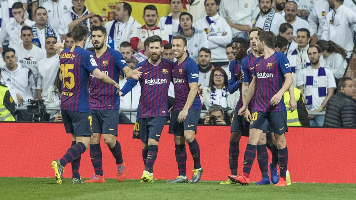 Барселона реал мадрид 1 4 смотреть запись