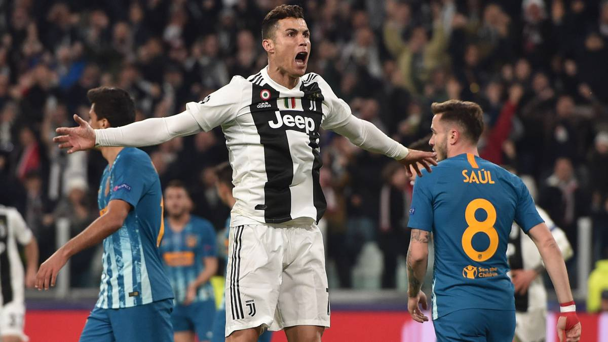Champions League Cristiano Ronaldo Hat Trick Sees Juventus Progress Over Atlético As Com