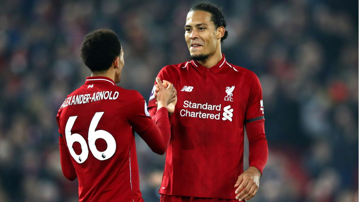 Liverpool Klopp Allays Fears Over Van Dijk Injury As Com