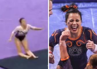 Gymnast Samantha Cerio suffers horrific injury - AS com