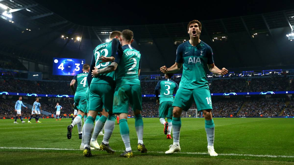 Spurs Squeeze Past City Into Semi After Epic Battle At Etihad AS com