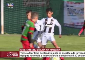 info for d1ab1 f86dd Juventus: Cristiano Ronaldo Jr top scores at Marítimo with ...