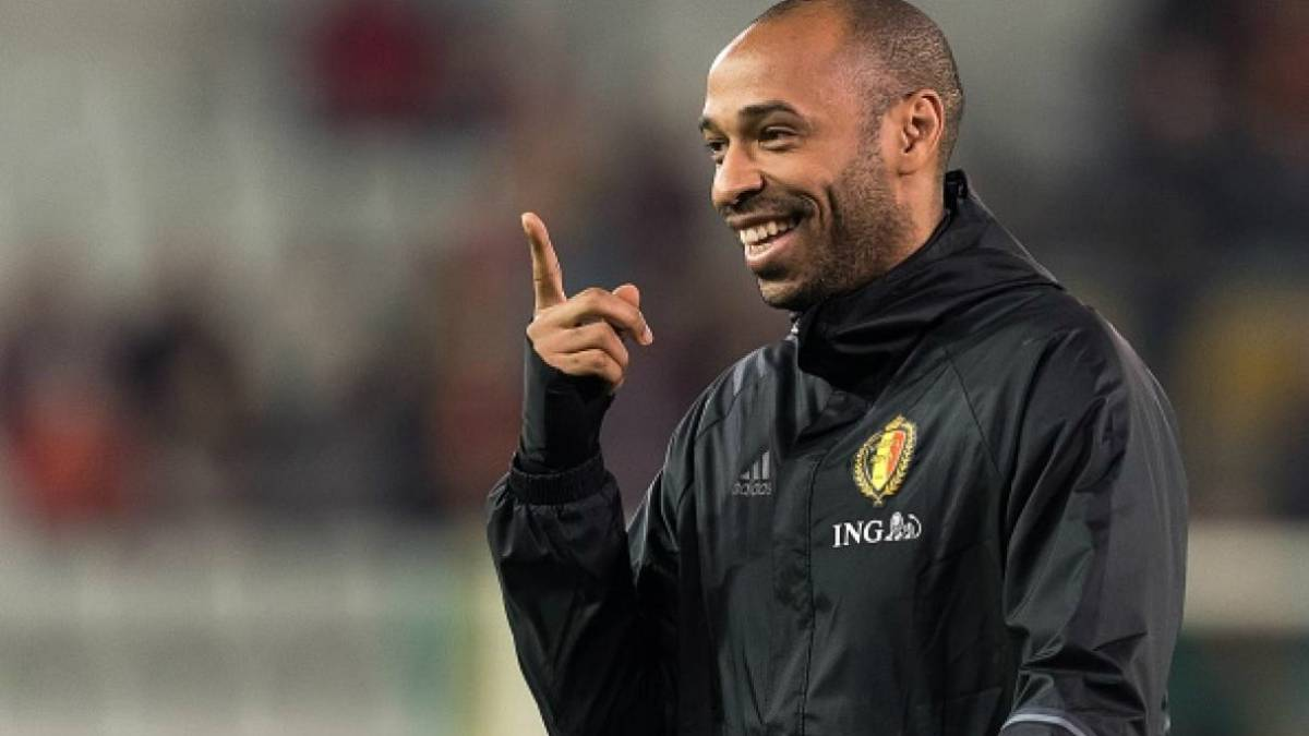 Image result for pic of thierry henry