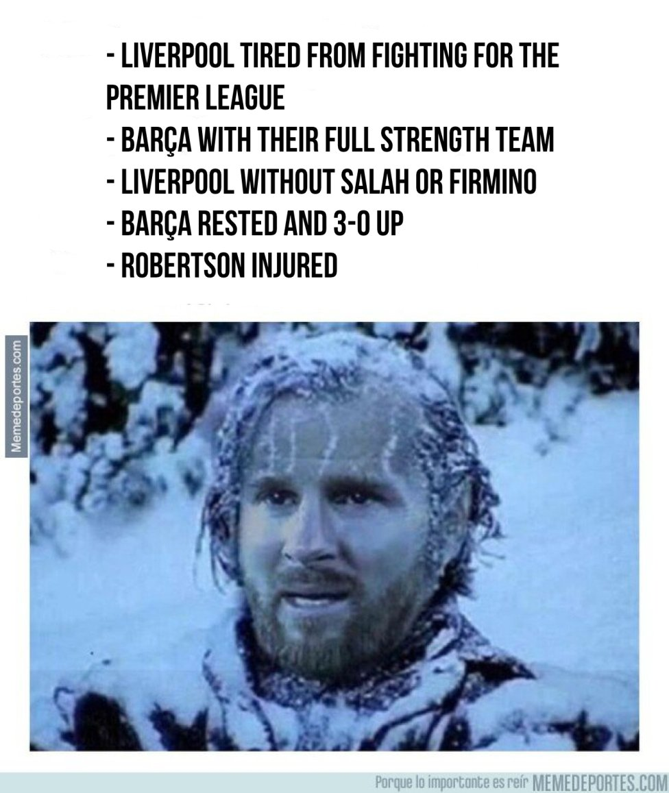 Liverpool Barcelona The Best Memes As Barca Crash Out Of The Champions League As Com