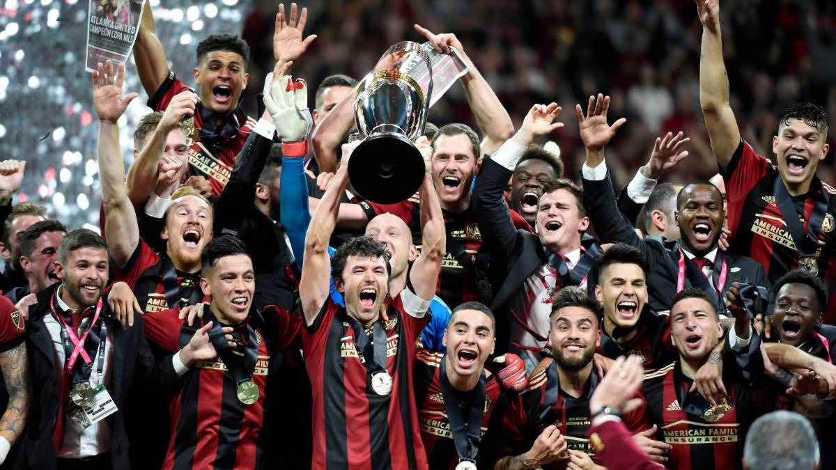 more photos a13d1 1c2ad Atlanta United named Sports Team of the Year - AS.com