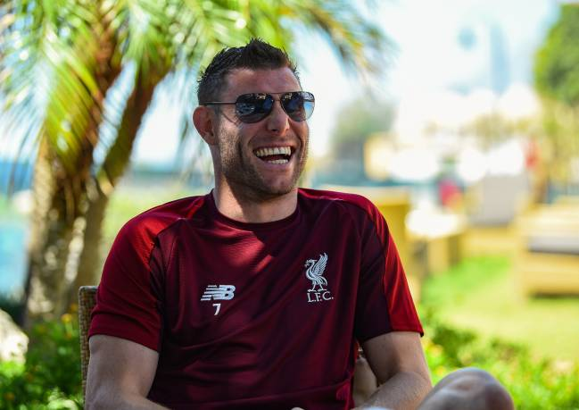 sneakers for cheap d6c49 f91d3 Messi calls Milner a 'burro' but Liverpool man understands ...