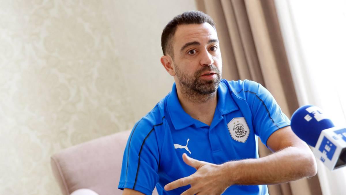 meet d7419 77e96 Official: Xavi confirmed as new coach of Al Saad - AS.com