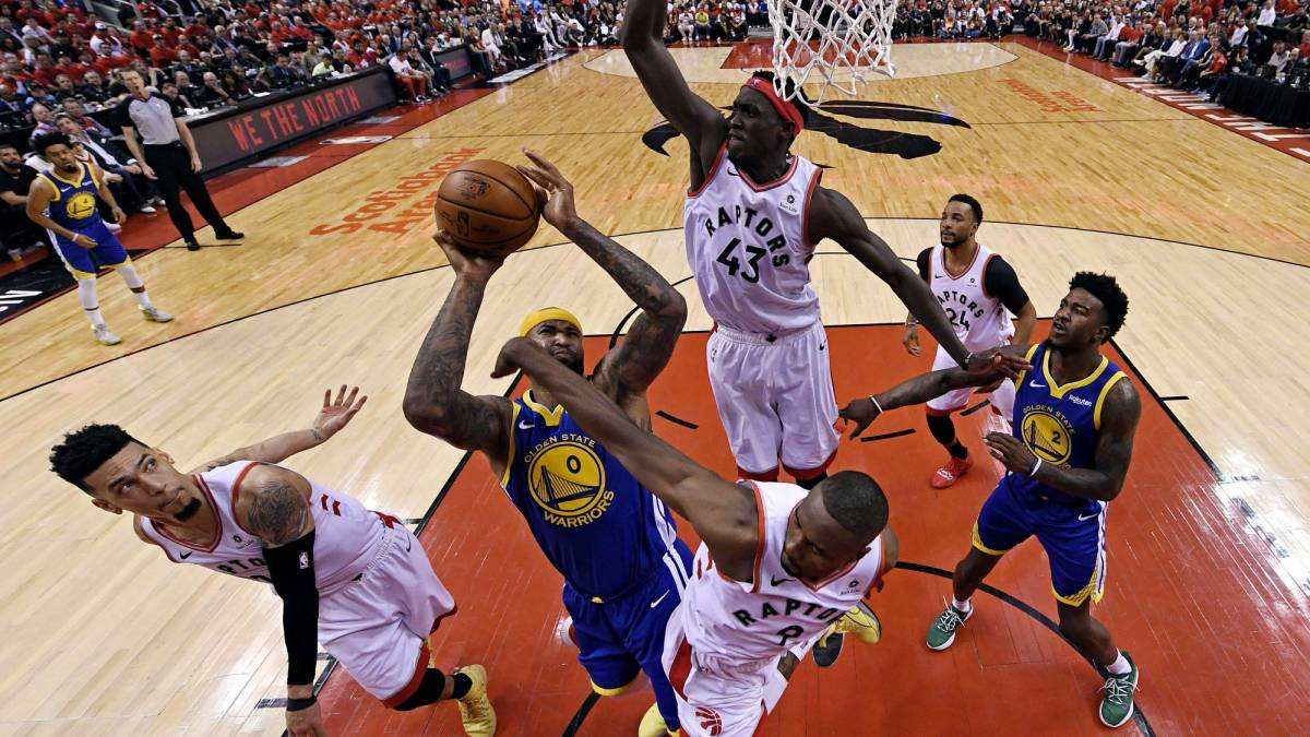 Warriors Top Raptors In Game 5 To Stay Alive In Nba Finals As Com