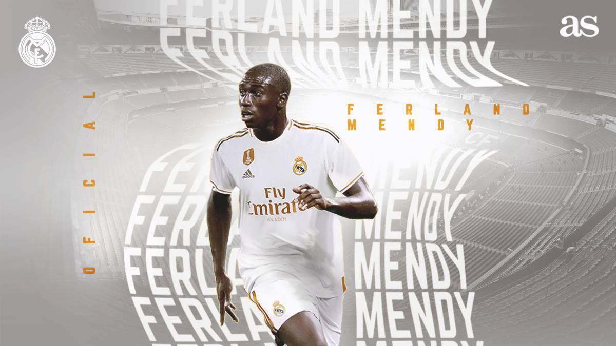 los angeles da6e0 5f2f1 Real Madrid sign Ferland Mendy from Olympique Lyon - AS.com