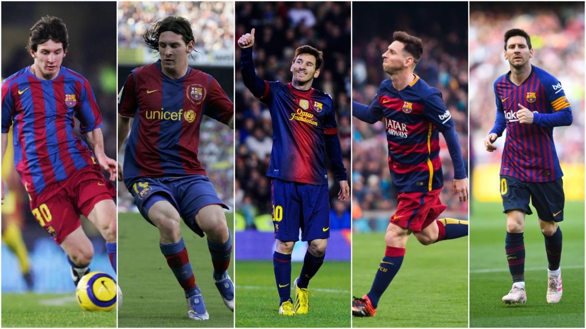 Lionel Messi Barcelona Man S Star Moments Over The Years As Com