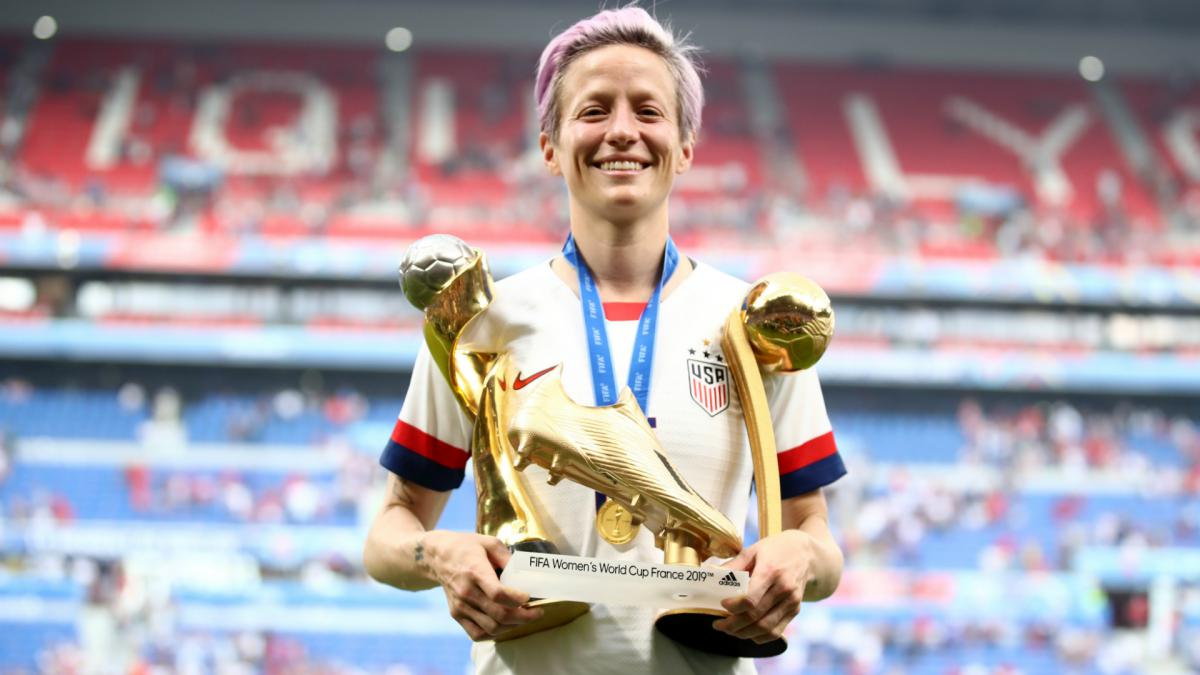 Rapinoe wins Golden Boot and Golden Ball at Women's World Cup - AS.com