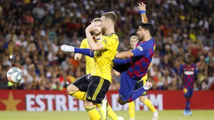 Výsledek obrázku pro aubameyang vs barcelona