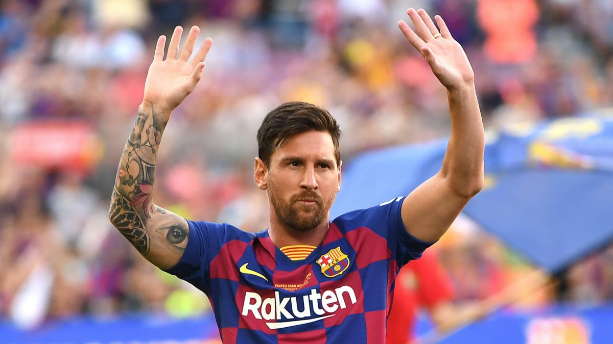 Messi expects to be out for 'a little while' after injury in