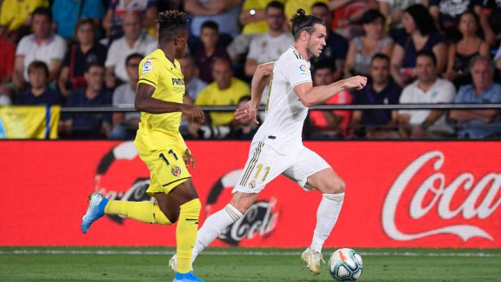 Bale Brace And Red Card As Villarreal Hold Madrid AS com