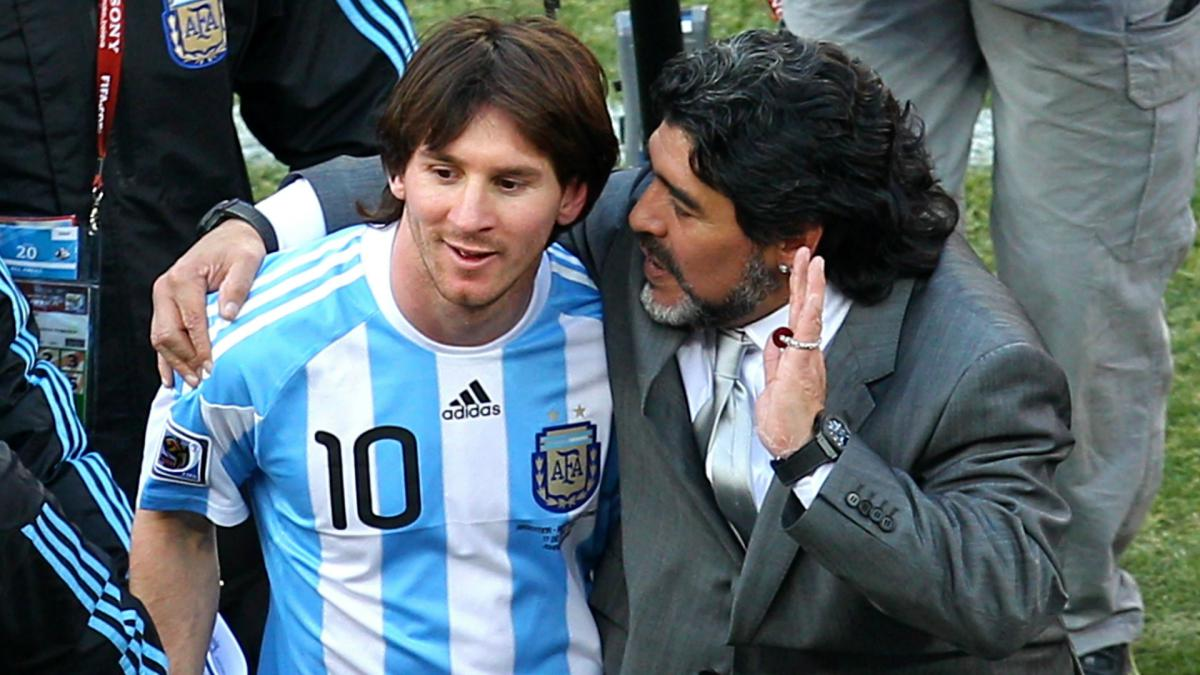 Lionel Messi's free-kick genius thanks to me, explains Maradona - AS.com