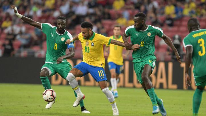 Neymar S 100th Brazil Cap Ends In 1 1 Draw With Senegal As Com