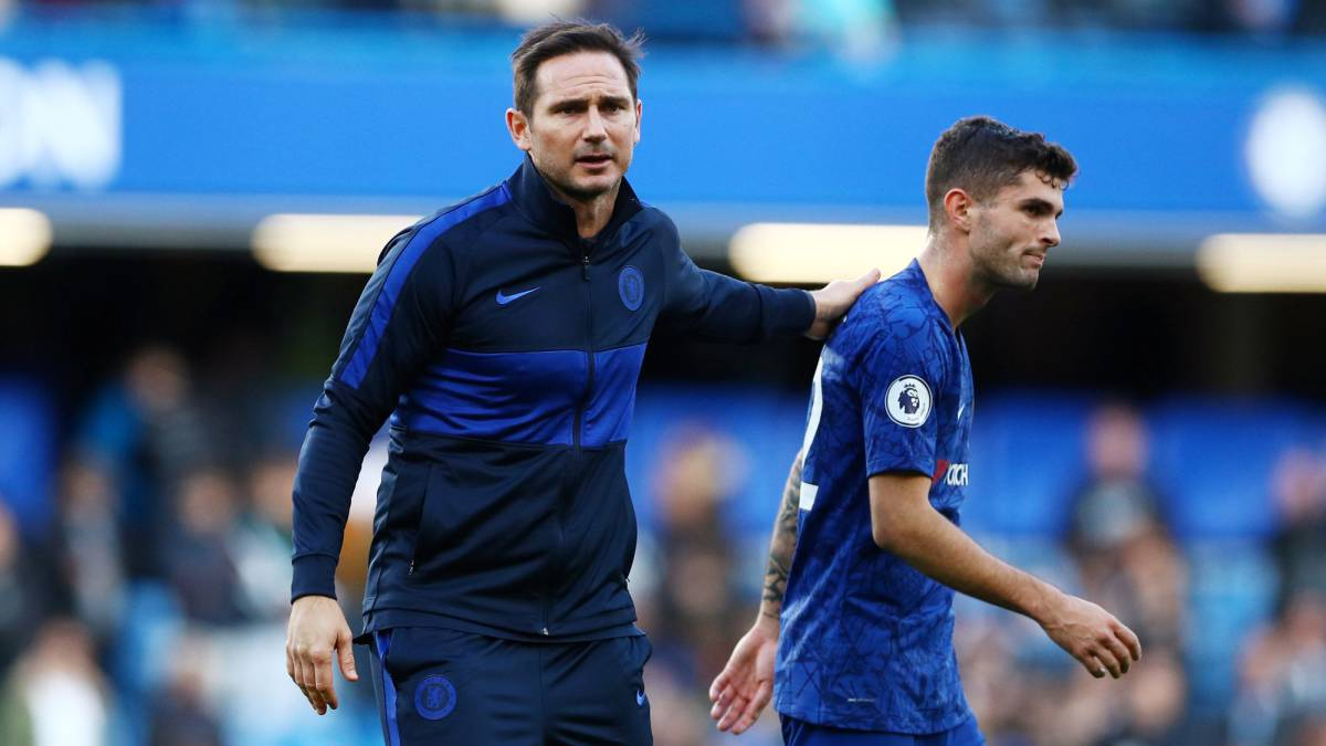"There's a lot more to come from Pulisic"" - Lampard - AS.com"
