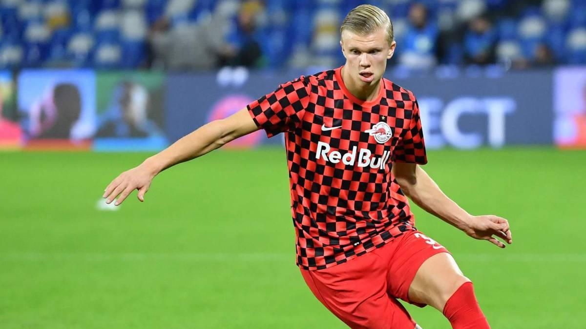 Haaland Rb Leipzig Set Sights On Rb Salzburg Striker As Com