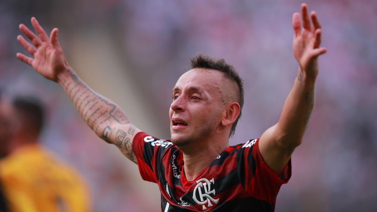 Rafinhas Tattoo Choice After Flamengos Copa Libertadores