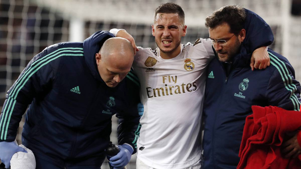Real Madrid offer Hazard injury update - AS.com