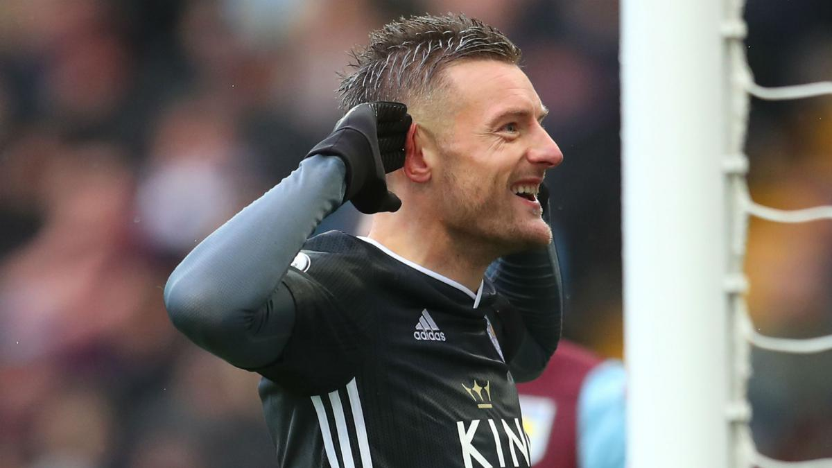 Jamie Vardy becomes first player to score in eight straight PL games