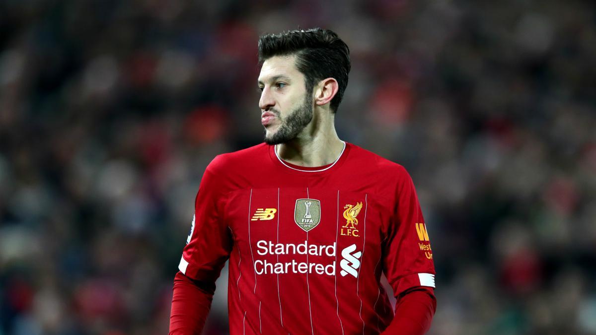 Adam Lallana Liverpool Away Jersey