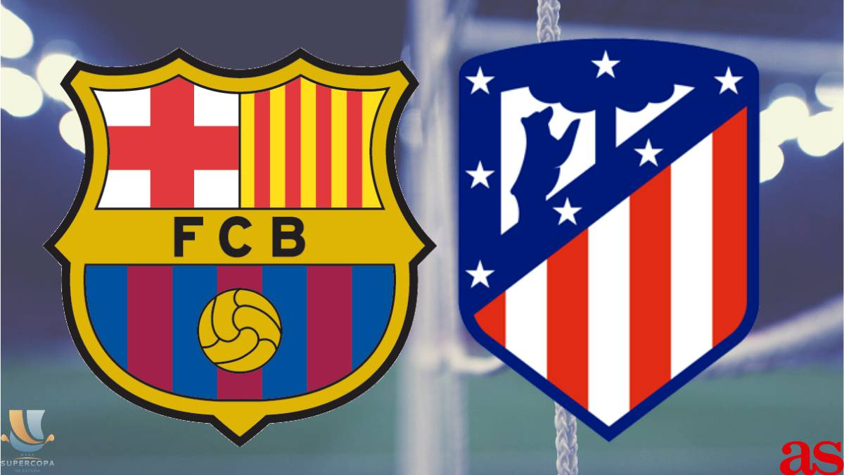 Barcelona Vs Atl tico Madrid Spanish Super Cup How And Where To Watch Times TV Online AS com