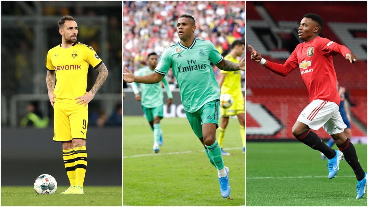 Man United Five Short Term Options After Rashford Injury As Com