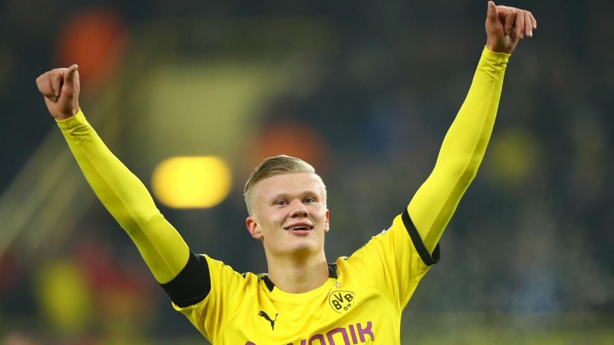 Five Goals In 57 Minutes For Haaland At Borussia Dortmund As Com