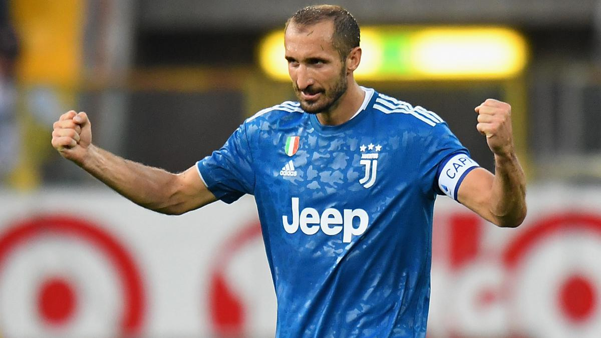 Chiellini Named In Juventus Champions League Squad As Com