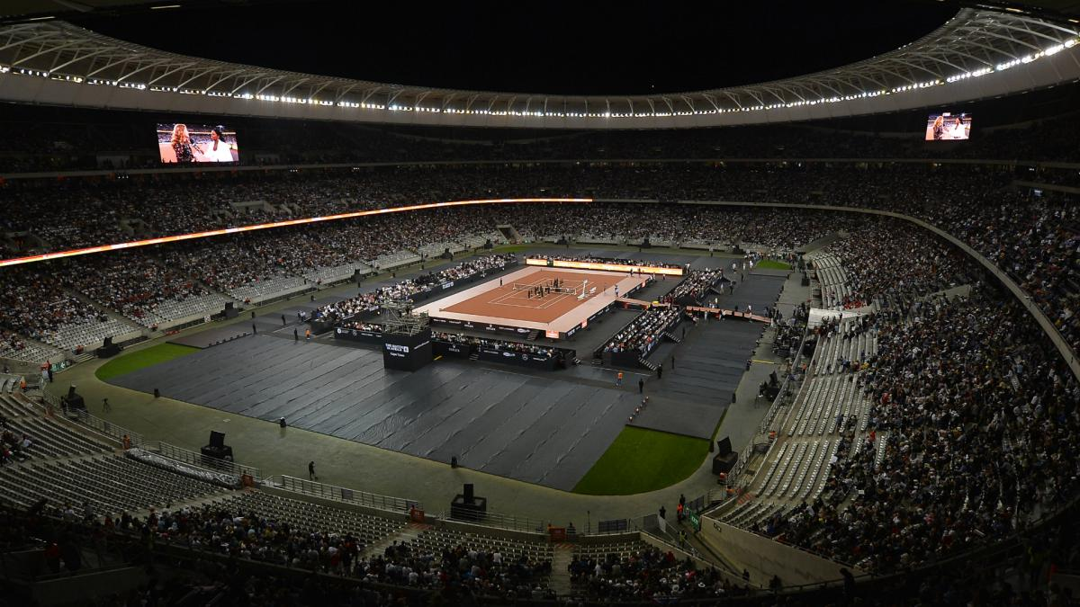 Federer V Nadal Smashes Tennis Attendance Record In Cape Town As Com