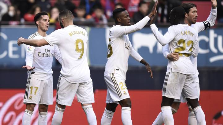 Real Madrid Late Show Adds Gloss To Hard Fought Osasuna Win As Com