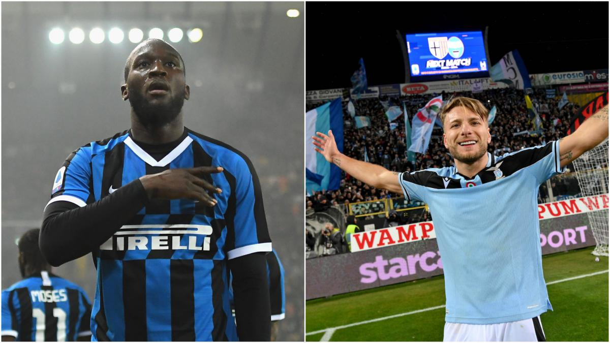 How Ciro Immobile And Romelu Lukaku Compare In Serie A As Com