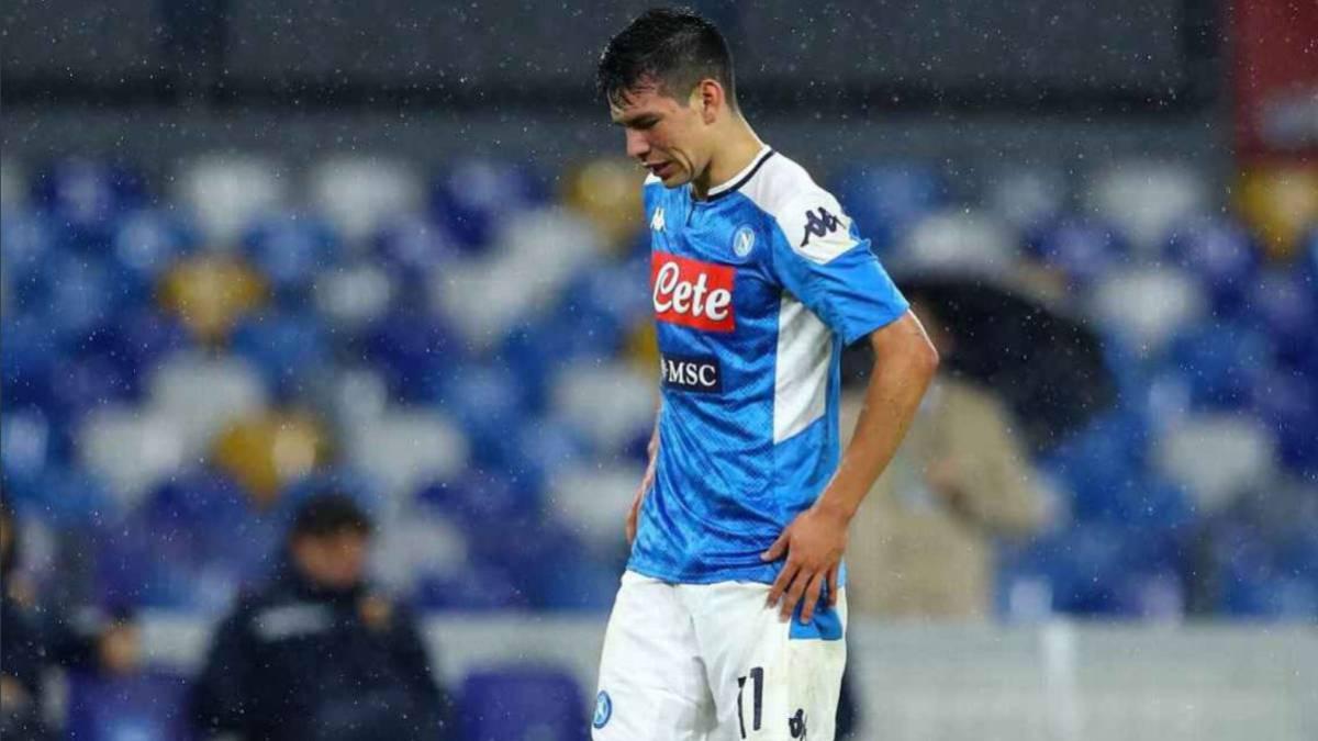 Hirving Lozano not with Napoli ahead of Cagliari clash - AS.com