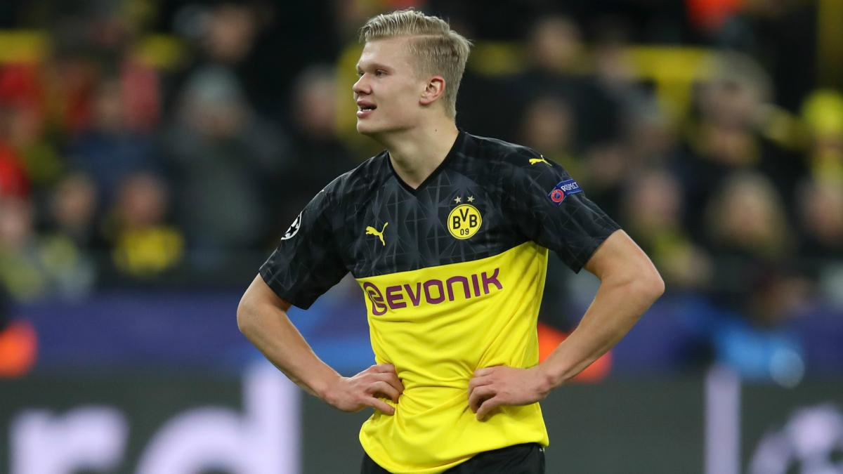 Dortmund Erling Haaland Makes Champions League History As Com