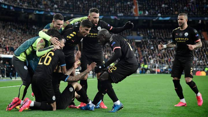 Manchester City Beat Real Madrid At The Bernabeu Champions League As Com