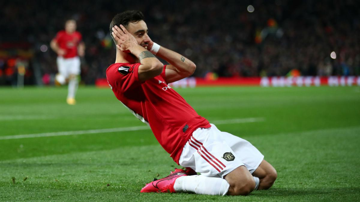 Bruno Fernandes a big boost, but Man Utd need one or two more pieces –  Solskjaer - AS.com