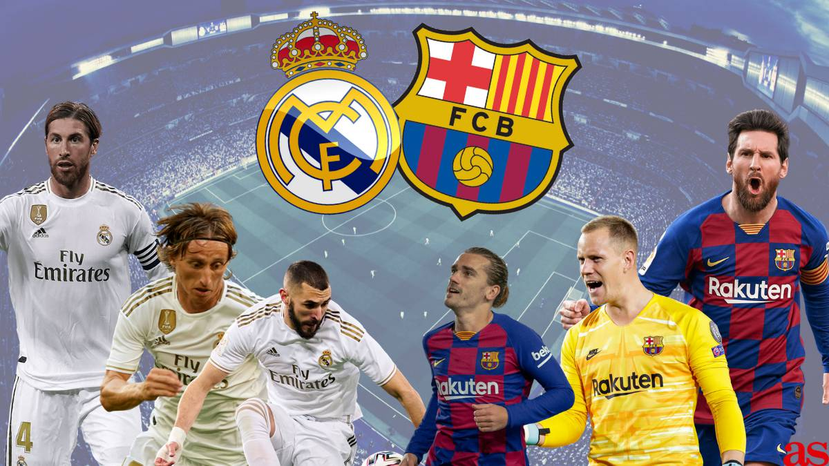 Real Madrid vs Barcelona: How and where to watch El Clásico - times, TV,  online - AS.com