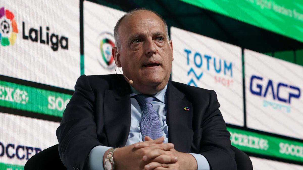 Liga chief Tebas committed to completing Spain's LaLiga season ...